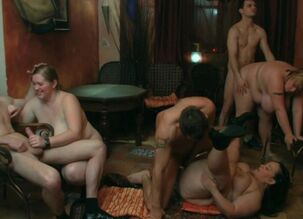 Orgy sex party